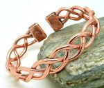 M26: Copper Magnetic Heavy Lace Bracelet